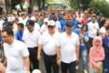 Wali kota Medan Lepas Ribuan peserta Jalan santai