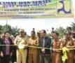 Bupati Sergei Resmikan Jembatan Desa Bandar Tengah Bandar Khalifah
