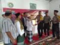 Kapolres Tobasa Kunjungi Masjid As-Syuhuda, Sosialisasikan Kamtibmas
