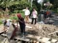 Anggota DPRD Tebingtinggi Pahala Sitorus Fasilitasi Pembangunan Drainase