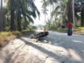 Jalan Desa Bogak Besar Rusak, Akhirnya Makan Korban