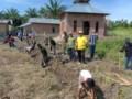Pahala Sitorus Bersama Kodim 0204 Gelar Karya Bakti Sarana Prasarana Mushollah
