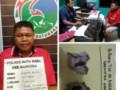 Bawa Ganja Khairil Ditangkap di Pintu Pos Jaga Lapas Labuhan Ruku