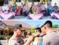 Kapolres Tebingtinggi Pimpin Apel Gelar Pasukan Operasi Keselamatan Toba 2019