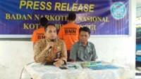 Oknum ASN dan TNI, Ditangkap BNN Tebingtinggi