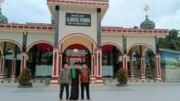 Masjid Aljam'iyatul IstiQomah di Desa Sei Lunang Berdiri Megah