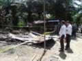 Diduga Dibakar OTK, Rumah Situmorang Rata Dengan Tanah.