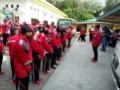 Ketua KONI Lepas Keberangkatan Kontingen Batu Bara  ke Medan