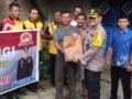 Polres Batu Bara Bhakti Relegi di Gereja GKPDI Limapuluh