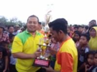 FC Kampung Kito Rebut Piala Kades Bagan Kuala
