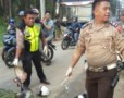 Pengendara Vario Tewas Dihantam Truk Konteiner