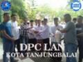 DPC LAN Kota Tanjungbalai Kunjungi PD Al-Wasliyah