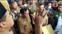 Ratusan Warga Bagan Dalam Minta Hasil Pilkades Dibatalkan