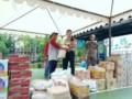 Mahasiswa STIK PTIK Bantu Warga Korban Banjir