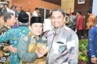 Wabup Sergai Hadiri Sertijab Kepala BPK RI Perwakilan Sumut