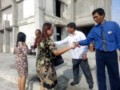 Cegah Virus Corona, Hanya 25 Porsen Jemaat HKBP Tebingtinggi Ke Gereja,                   Masuk Gereja disemprot Hand Sanitizer