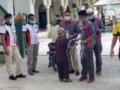 IWO Sergai Dan BM3 Bagikan Masker Gratis Bagi Jemaah Sholat Jumat
