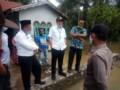 Bupati Batubara Tinjau Banjir di Desa Manasiam