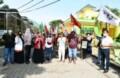 Petani Jalan Kaki Menuju Istana, Bupati Sergai Sediakan Tempat untuk Istirahat