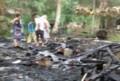 Satu Rumah Ludes Terbakar di Batubara
