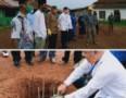 Bupati Batubara Letalkan Batu Pertama Pembangunan Masjid Besar Husnul Khotimah
