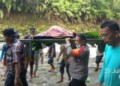 Rahmansyah Korban Hanyut Di Sungai Ditemukan