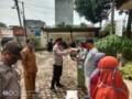 Kapolsek Rambutan Berikan Bantuan Korban Puting Beliung