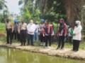 Ketua Cabang Bhayangkari Polres Tebingtinggi Tinjau Kampung Paten Silemang