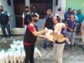 Warga Gang Dordar Limapuluh Kembali Terima Bantuan