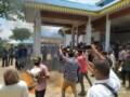 Ampera Unras Di Depan Kantor DPRD Soroti Dugaan Penyimpangan Di Dinas Pendidikan Batubara