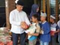 Jum'at Barokha , Yunasril Berbagi Rezeki Dengan Anak Yatim