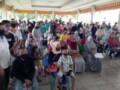 Padang Hilir Zona Merah COVID -19, Penyaluran Dana BST Tidak Patuhi Prokes
