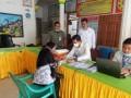 Bank BRI Tanjungbalai bersama Dinas Sosial salurkan bantuan kepada KPM