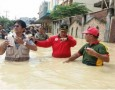 Walikota Tebingtinggi Tinjau Lokasi Banjir