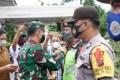 Dandim 0204 /DS : Libur Nataru Personil Tetap Gelar Sosialisasi Antisipasi Penyebaran COVID-19