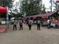 Polsek Indrapura Pimpin Patroli Prokes Gabungan Di Lokasi Wisata Pantai Alam Datuk