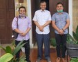 Pemuda Pakpak Bharat Sampaikan Program Pembangunan Kebudayaan Kepada Wakil Bupati