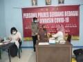 Sebanyak 111 Personil Polres Serdang Bedagai Disuntik Vaksin COVID