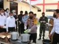 Polresta Deli Serdang Musnahkan Barang Bukti Sabu