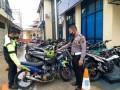Sat Lantas Polres Tanjungbalai Amankan Puluhan Septor Knalpot Blong