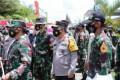 Kapolda Sumut, Kalemdiklat Polri dan Danjen Akademi TNI Tinjau Satlat Macan Latsitardanus XLI di Simalungun