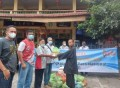 PWI Tebingtinggi Salurkan 200 Paket Sembako Rangkaian HPN 2021