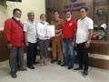 Preddy Situmorang dan Jan Piter Simorangkir Terima Mandat Ketua SMSI Tapteng dan Taput