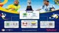 Jadwal Copa America 2021 – Penentuan Juara 3 Kolombia vs Peru, Final Juara 1 Brasil vs Argentina