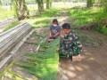 Hari Terakhir TMMD 111 Kodim 0204/DS, Anggota Satgas Pamit ke Warga Desa Mabar