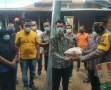 Kapolres Tebingtinggi Kunjungi dan Berikan Sembako Kepada Korban Angin Puting Beliung di Sipispis