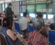 Kodim 0204 / DS Kembali Gelar 'Serbuan Vaksin'  di Kota Tebingtinggi,  Target 1000 Orang