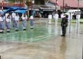 Hujan, Tidak Mengurangi Semangat Upacara Detik – Detik Pengibaran Bendera di Kec. Lahusa – Nisel