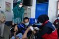 Puluhan Warga Disabiltas Di Batubara Divaksin COVID-19