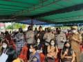LANAL Nias Bersama Polres Nisel Gelar Vaksinasi Massal Bagi Pelajar dan Masyarakat